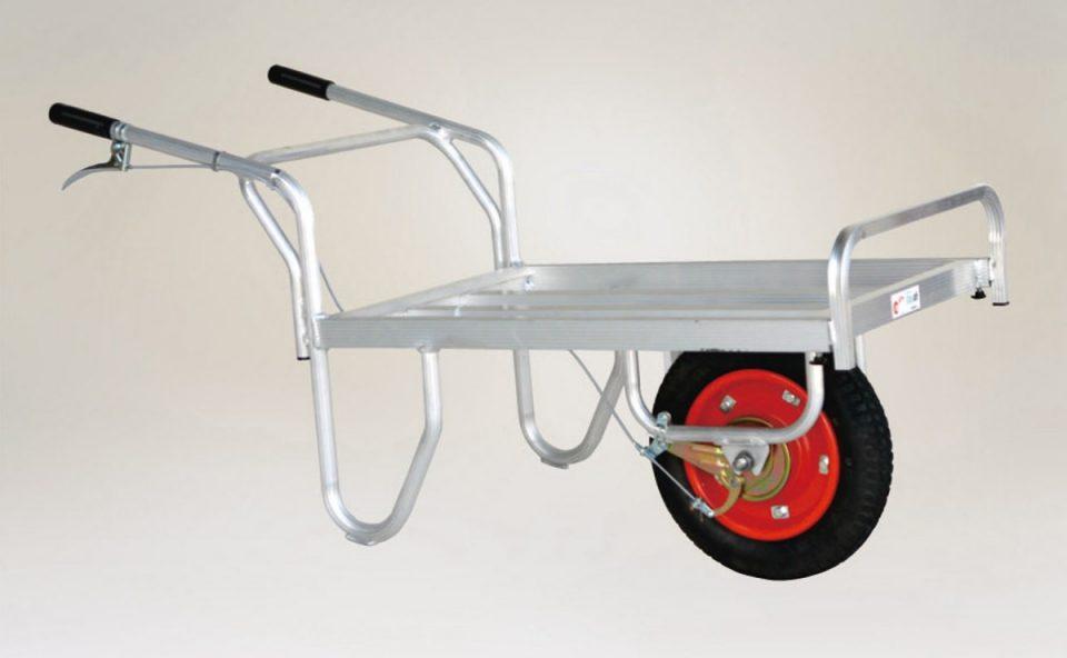 ブレーキ付き1輪車(アルミ1輪車)