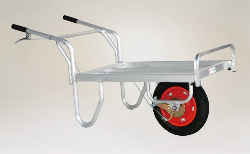 ブレーキ付1輪車(コン助)