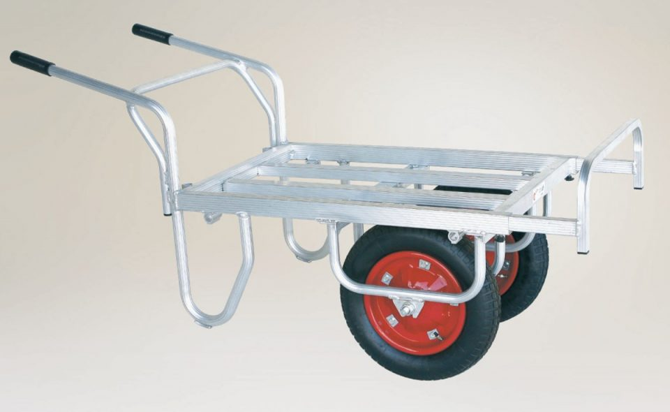 平型2輪車(1輪車に付け替え可能)