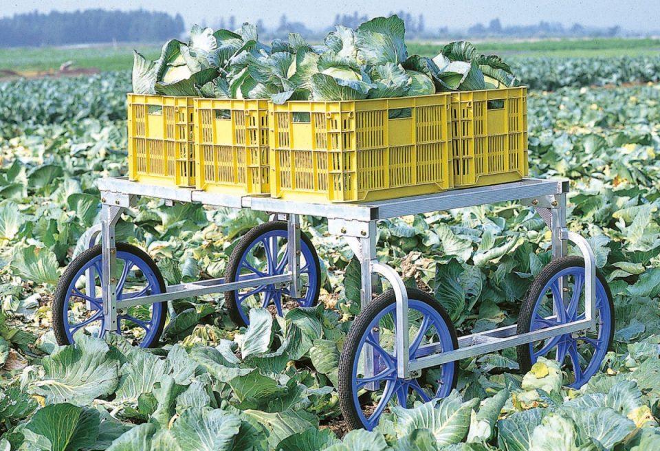 アルミ製 収穫台車(RA-100/100N)