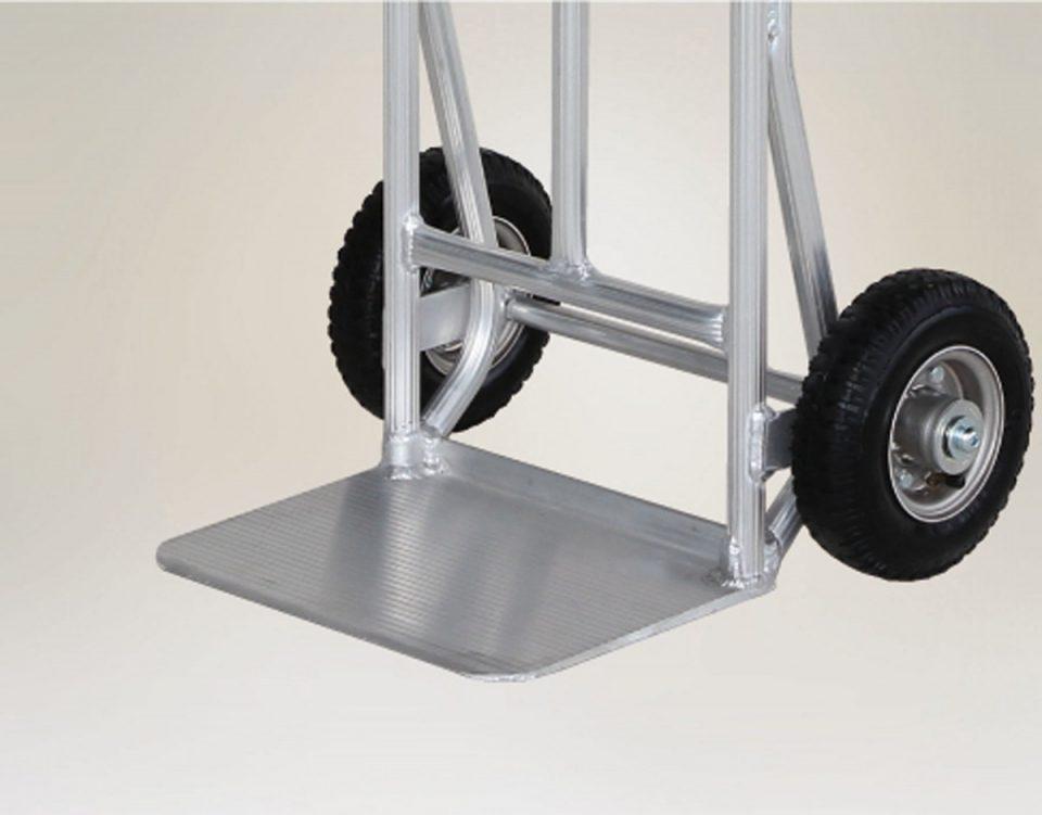 アルミ製 重量物運搬台車 (標準フォーク板)
