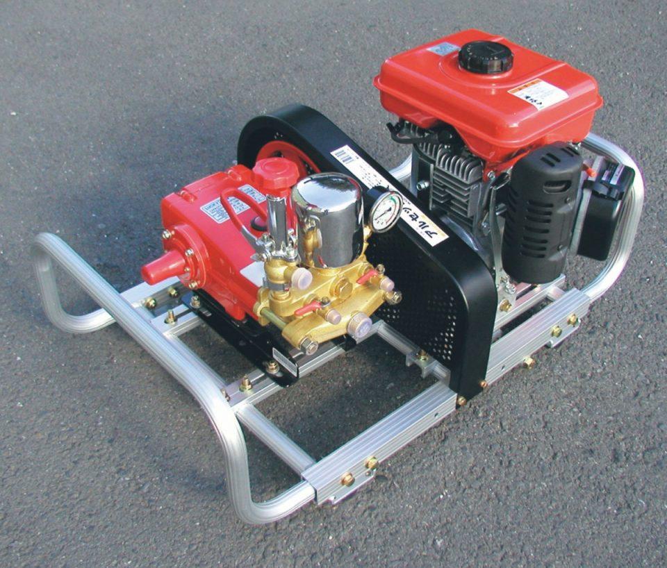 アルミ製 動噴セット台