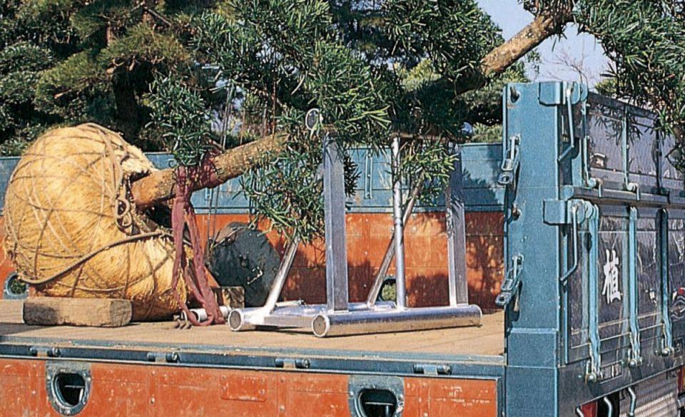 植木運搬用 アルミ架台(トラック用)