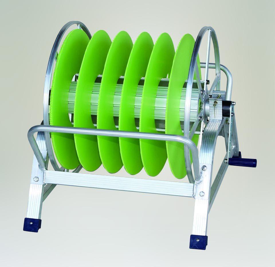潅水チューブ・潅水ホース・点滴チューブ・散水ホース 巻取器
