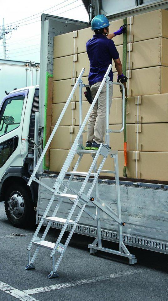 天板付ステップ幅広タイプ(ステップ幅40cmタイプ)